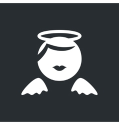 Angel sign vector