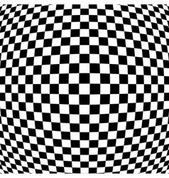 Abstract black - white geometric background vector