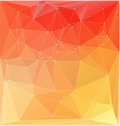 abstract orange yellow colorful vector image vector image