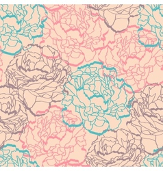 Floral ornamental seamless vector image
