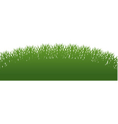 Fresh green grass field vector