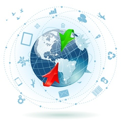 Global business vector