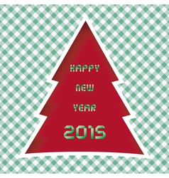 Happy new year 2015 greeting card11 vector image vector image