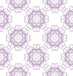 Colored seamless pattern of openwork stars vector