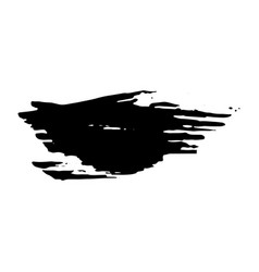 Ink dry brush stroke vector