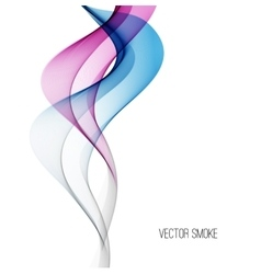 Smoke background vector image