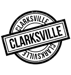 Clarksville rubber stamp vector image