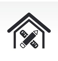 interior design icon vector image