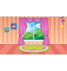Child room game background vector