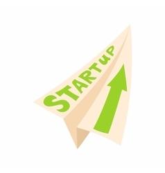 Startup concept icon cartoon style vector