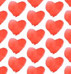 Aguarel Heart vector image vector image