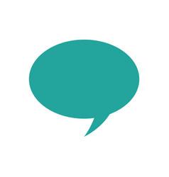 bubble speech talk dialogue message icon vector image