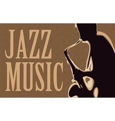 Jazz musicican vector