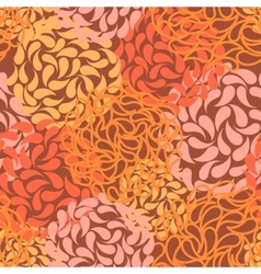 seamless floral background color abstract vector image