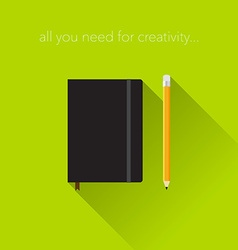Creativity tools vector image