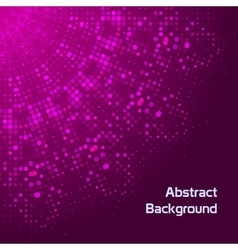 Doted abstract background vector