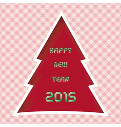Happy new year 2015 greeting card13 vector image vector image
