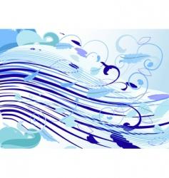 Icy wind vector