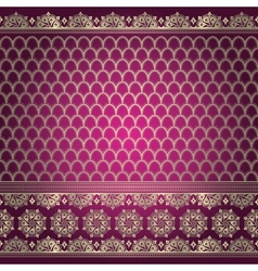 Indian background pattern vector