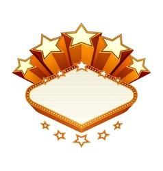 Vegas emblem vector