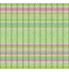 Seamless pattern knit texture vector