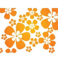 sunshine flower 01 vector image