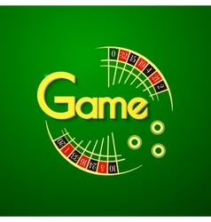 Game logo vector