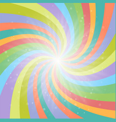 Abstract colored background with light rays vector