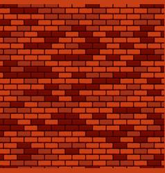 Brick wall seamless pattern vector