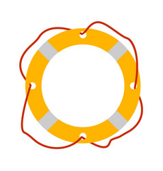lifebuoy icon tourism equipment vector image