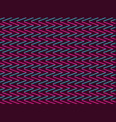 seamless background with zigzags in style of 90s vector image