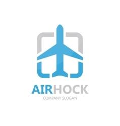 airplane logo design design Airport logo vector image