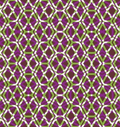 Bright symmetric endless pattern with stylized vector image vector image
