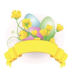 eggs scroll vector image