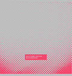 Gray background with red halftone vector