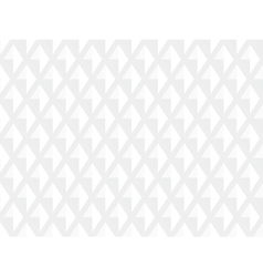 White Texture Background in Rhombs vector image