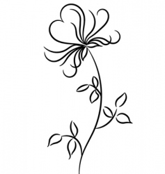 Flower graphic design vector