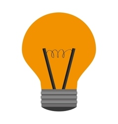 Light bulb lightbulb idea icon vector