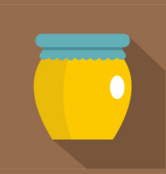honey liquid bank icon flat style vector image