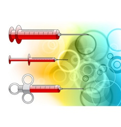injections background vector image vector image