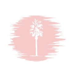 Palm logo quartz vector