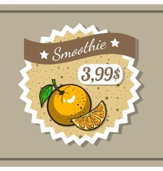 Smoothie Sticker 3 vector image