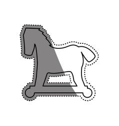 virus malware trojan symbol vector image