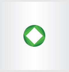 Green business icon design tech symbol vector