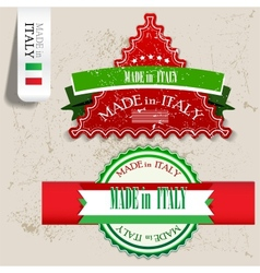 Made in italy vector