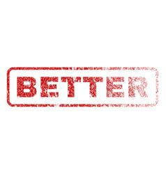 Better rubber stamp vector