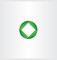 Green business icon design tech symbol vector