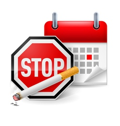 No smoking day icon vector