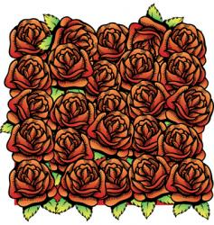 roses illustration vector image vector image