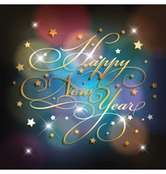 new year background 1010 vector image